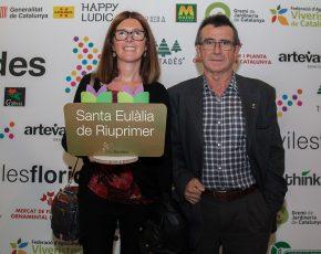 Santa Eulalia de Riuprimer Flors d Honor 2017 - Viles Florides