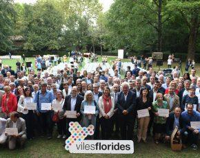 Viles Florides lliura els reconeixements Flors d'Honor 2016 a 86 municipis
