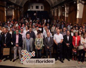 Viles Florides lliura els reconeixements Flors d'Honor 2017