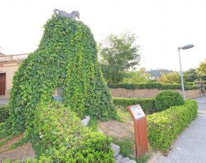 Monument al cavall Sant Vicenc de Castellet - Viles Florides